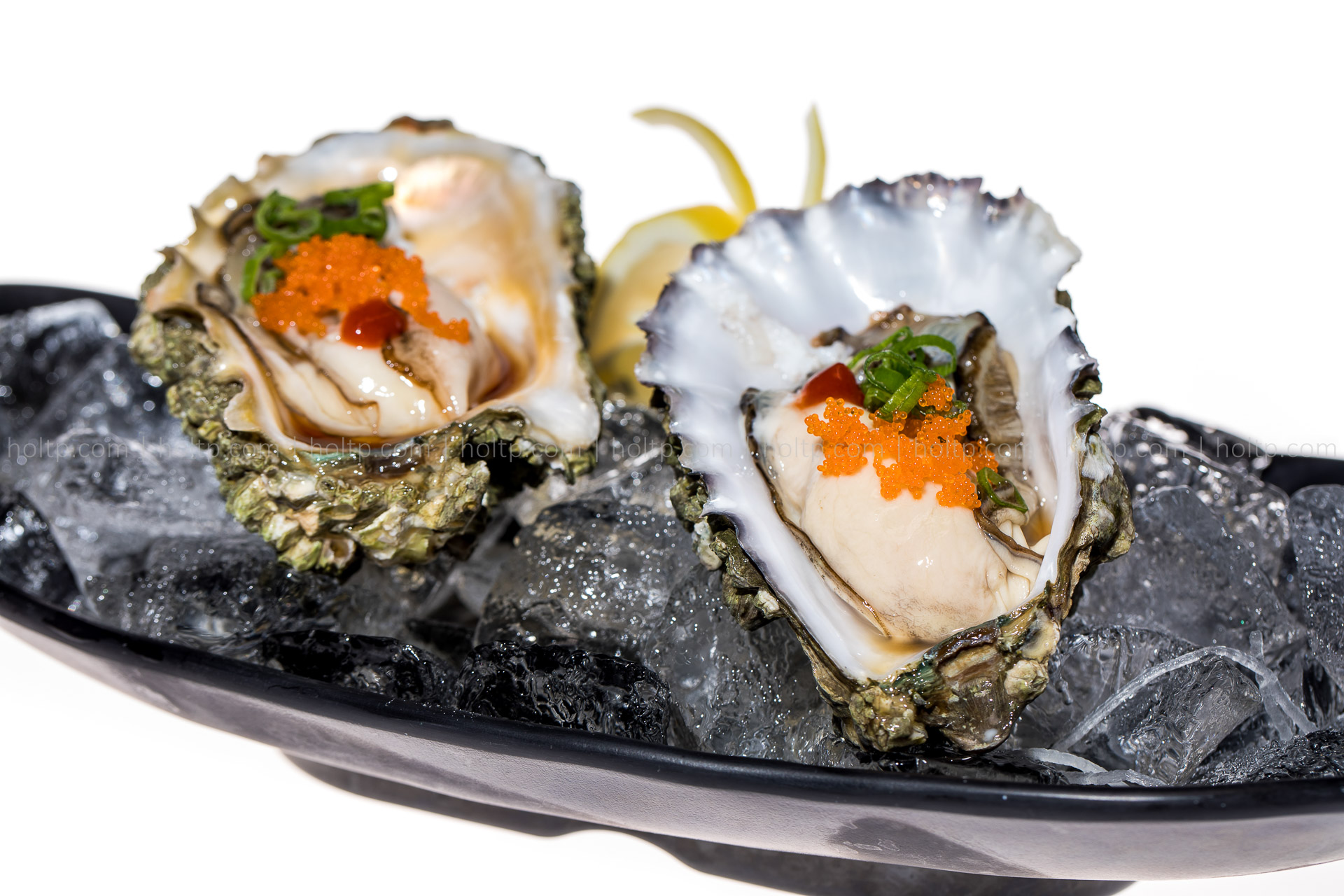 Oyster Appetizer | Restaurant Food Photography