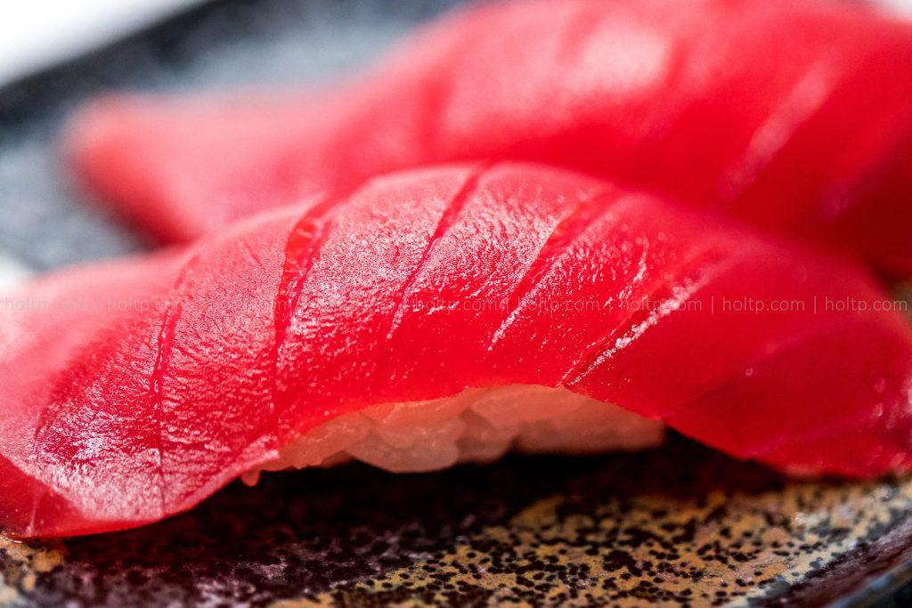 Tuna Sushi closeup
