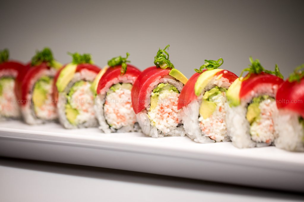 Sushi Roll Avocado Tuna Roll Photography