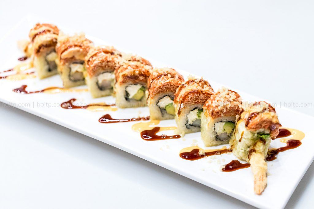 Sushi Roll Crunch Roll Photography