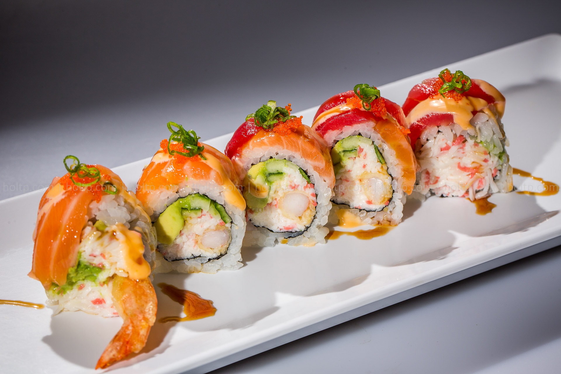 Sushi Roll, One Item Example | Food Photography