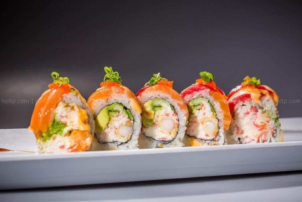 Sushi Roll Photo Salmon Tuna Shrimp Tempura