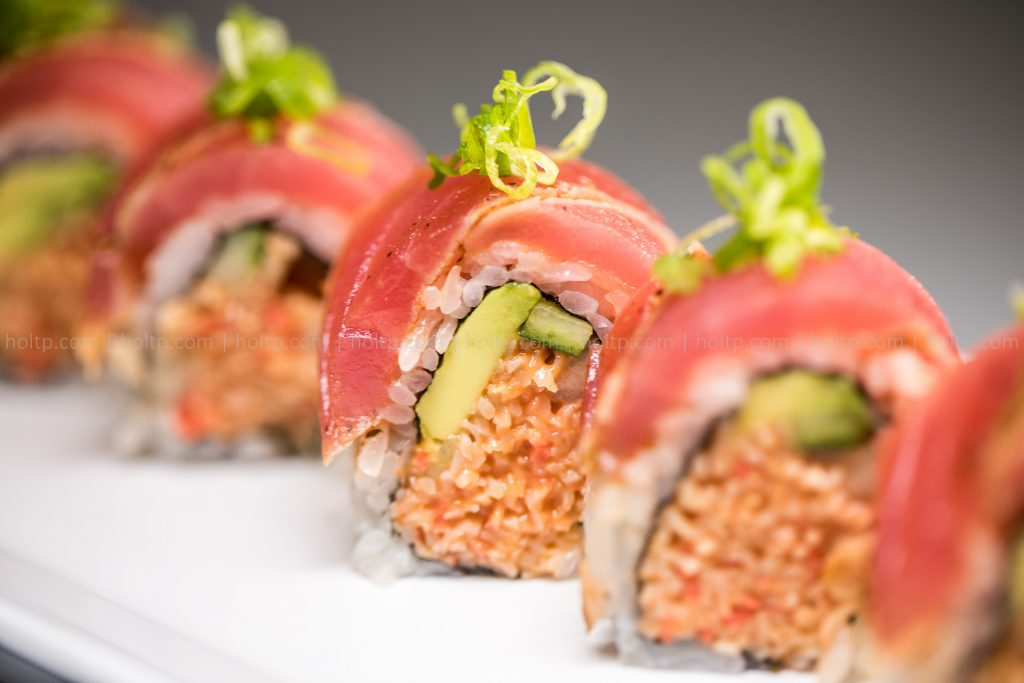 Sushi Roll Photo Spicy Seared Tuna