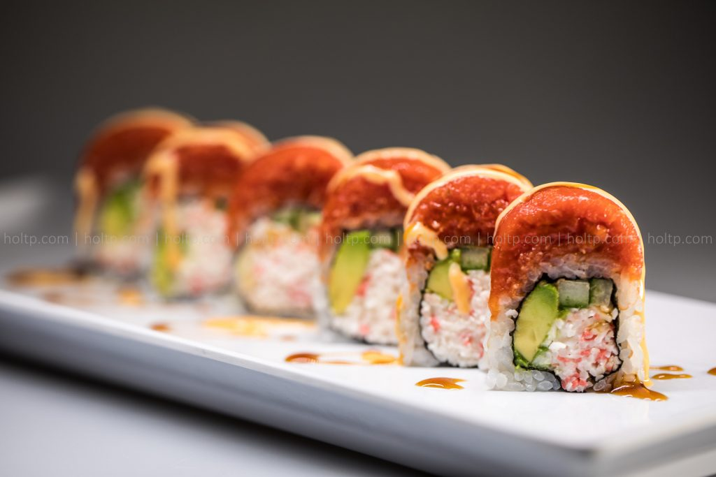 Sushi Roll Photo Spicy Tuna