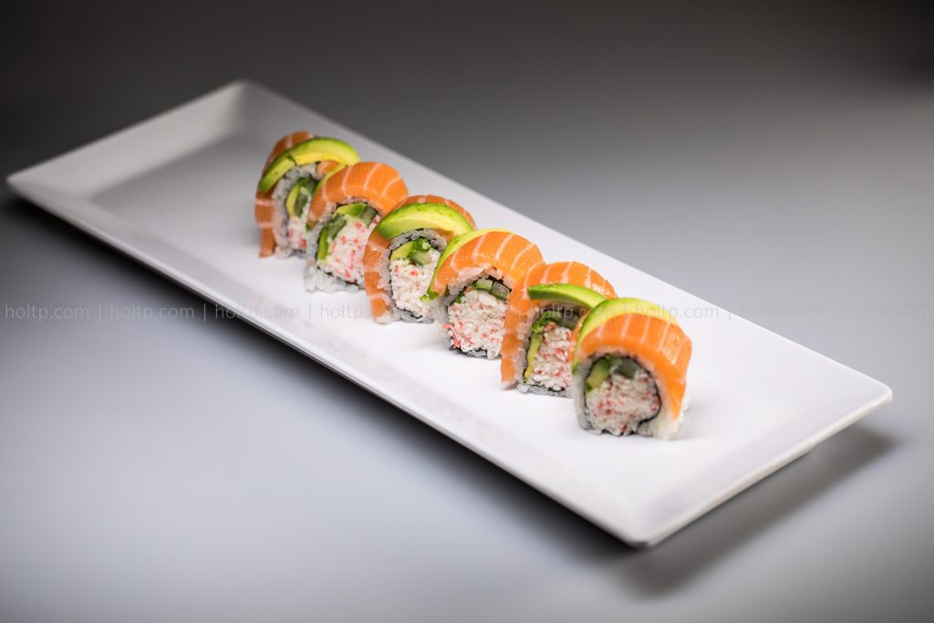 Sushi Roll Photo Salmon Avocado