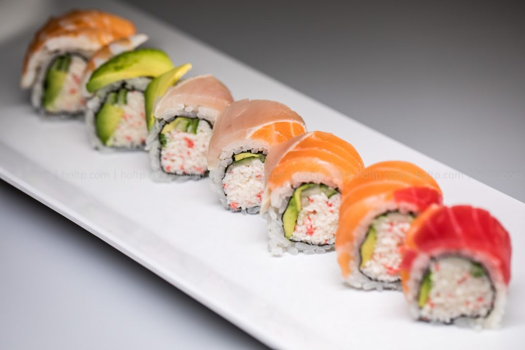 Sushi Roll Photo Salmon Tuna Albacore
