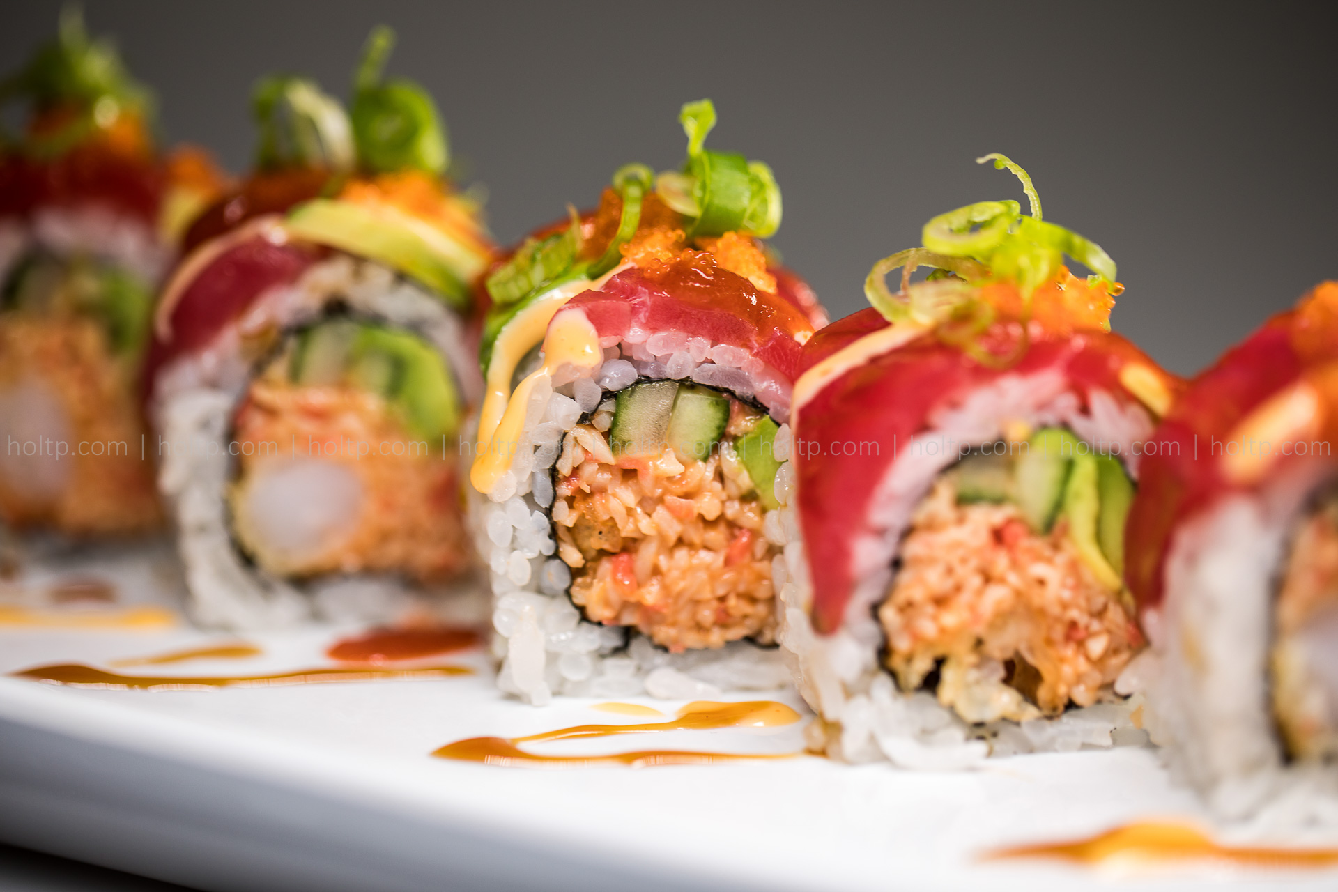 Sushi Rolls | Restaurant Food Photography