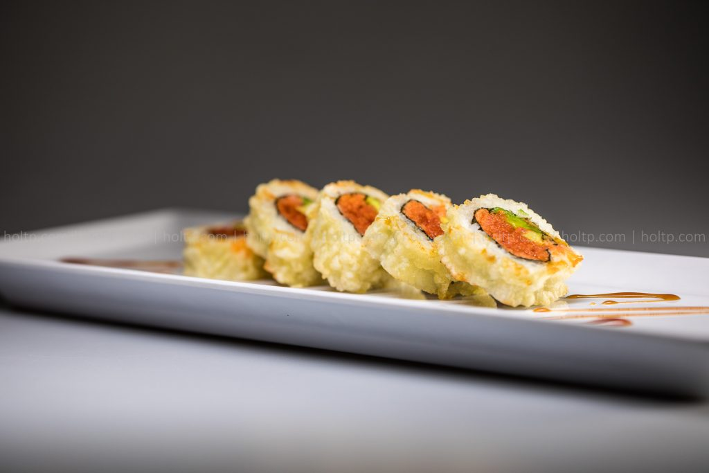 Sushi Roll Photo Crunch Spicy Tuna