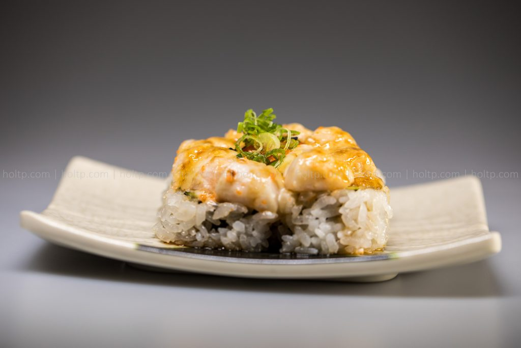 Sushi Roll Photo Creamy Scallop