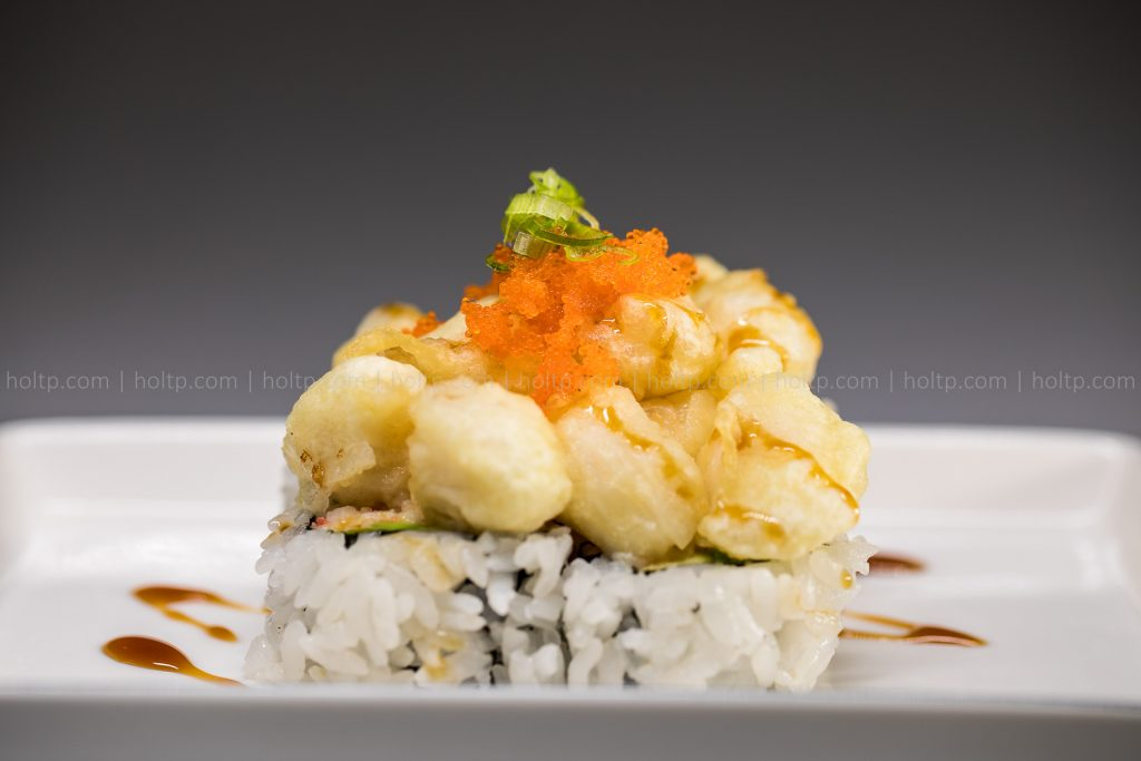 Sushi Roll Photo Fried Scallop