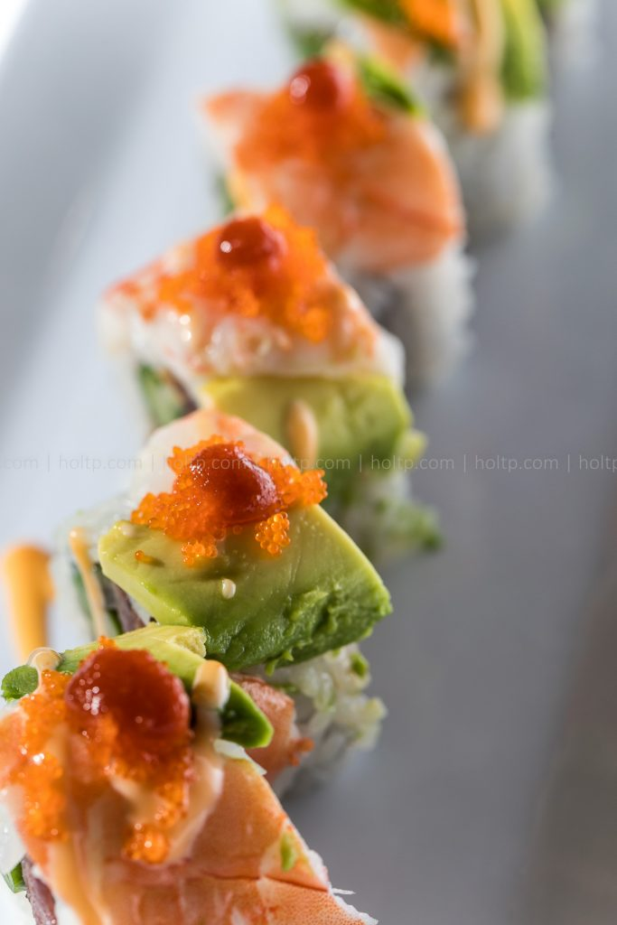 Sushi Roll Photo Shrimp Avocado