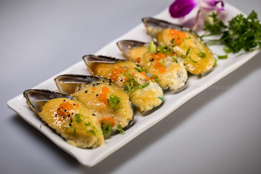 Sushi Roll Photo Mussels Masago