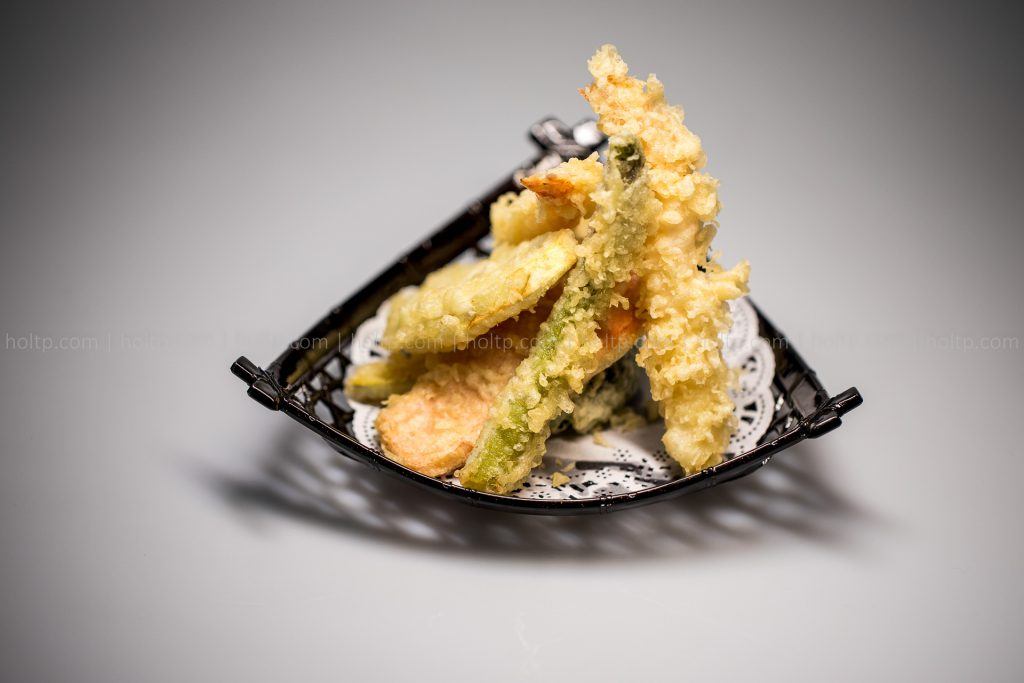 Appetizer Tempura Mix Photography