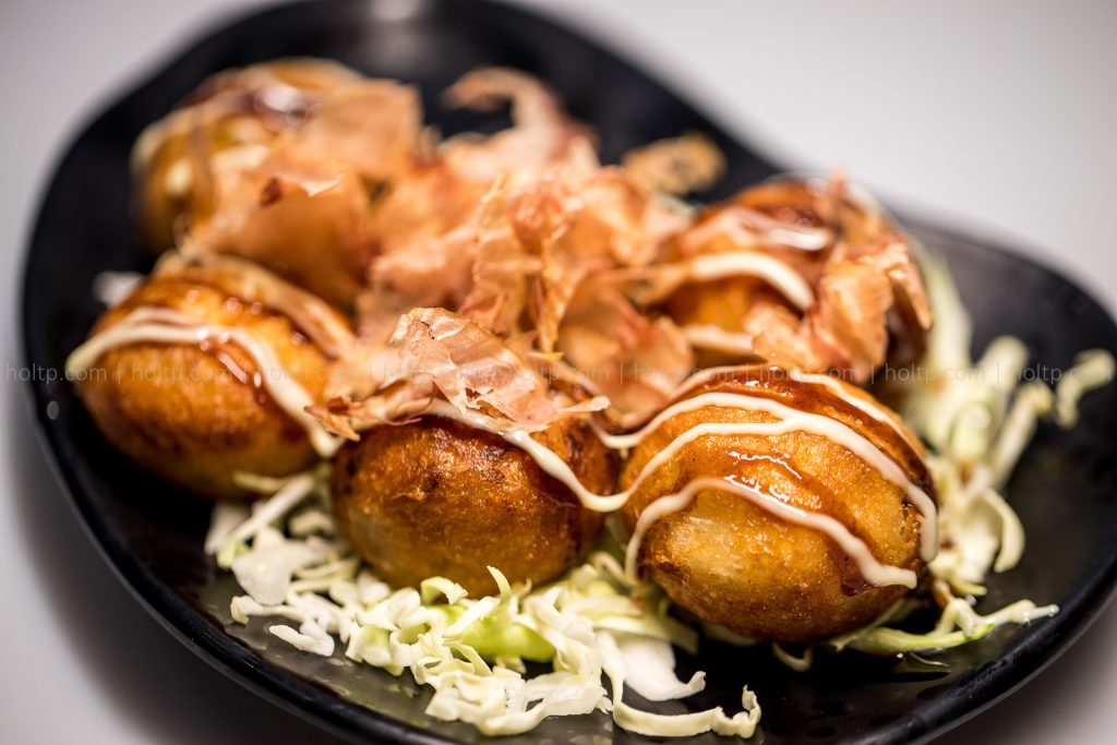 Appetizer Takoyaki Octopus