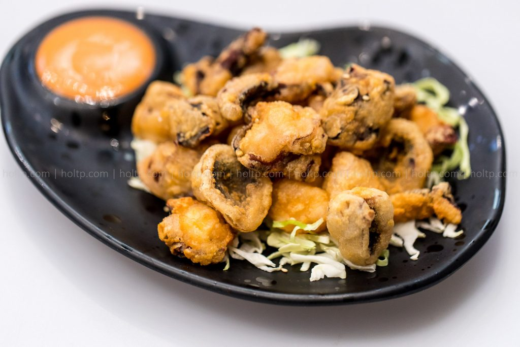 Appetizer Fried Mushrooms