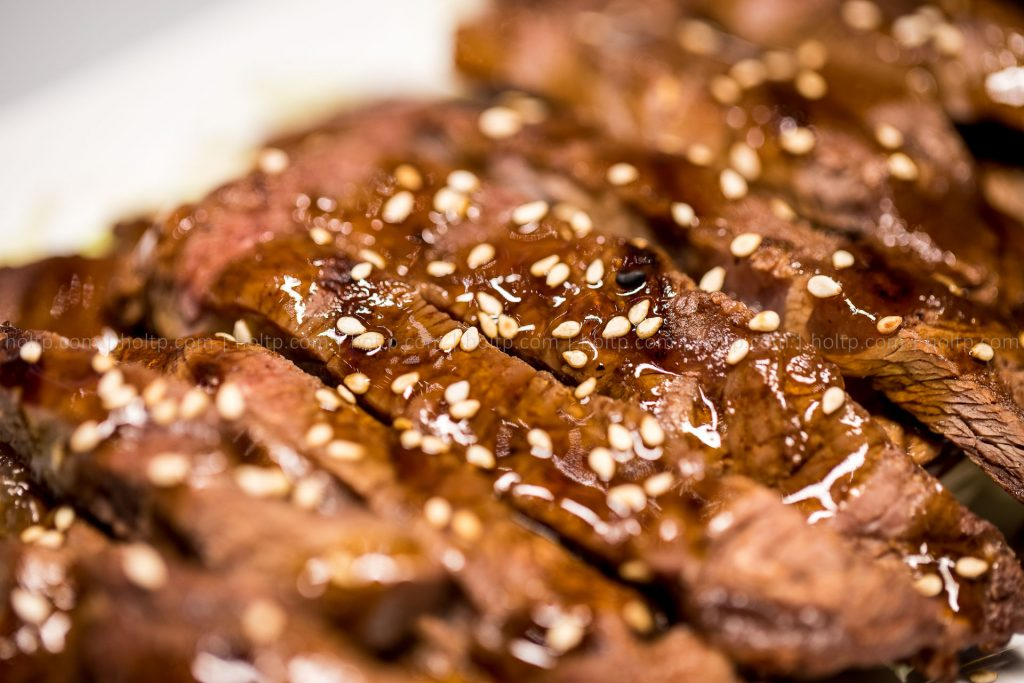 Appetizer Beef with Sesame