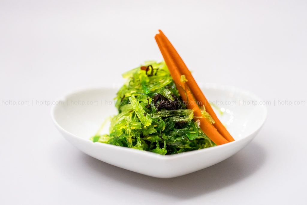 Appetizer Green Seaweed