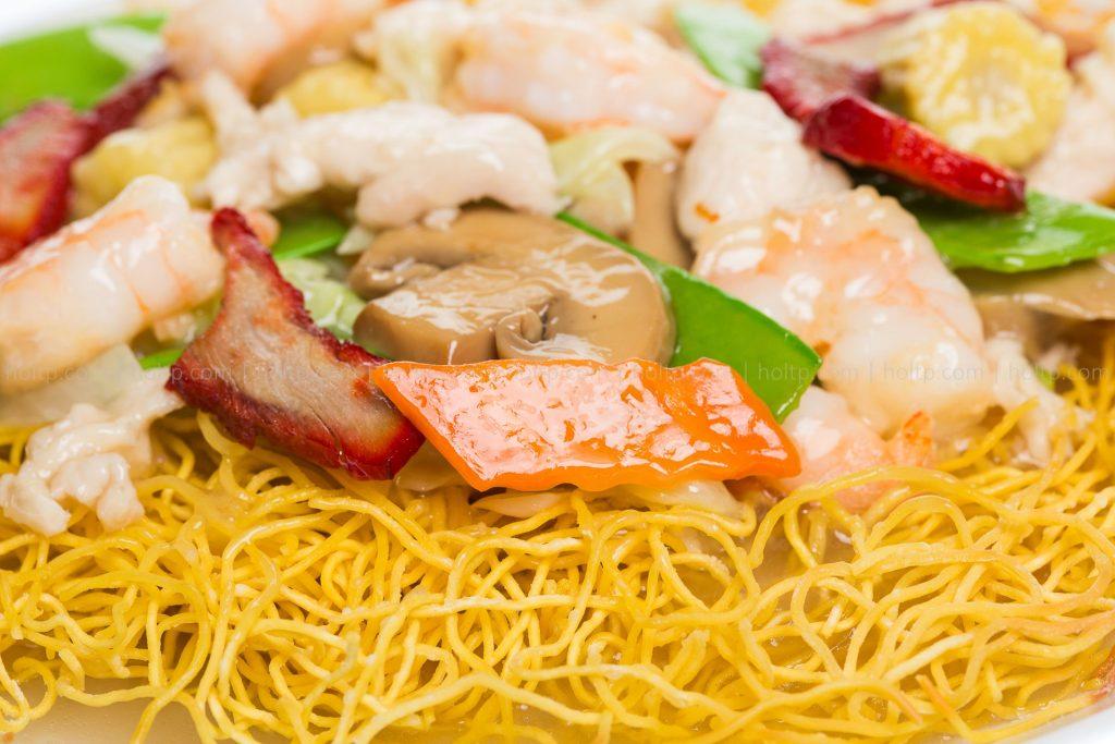 Chinese Restaurant Fried Noodle Basket