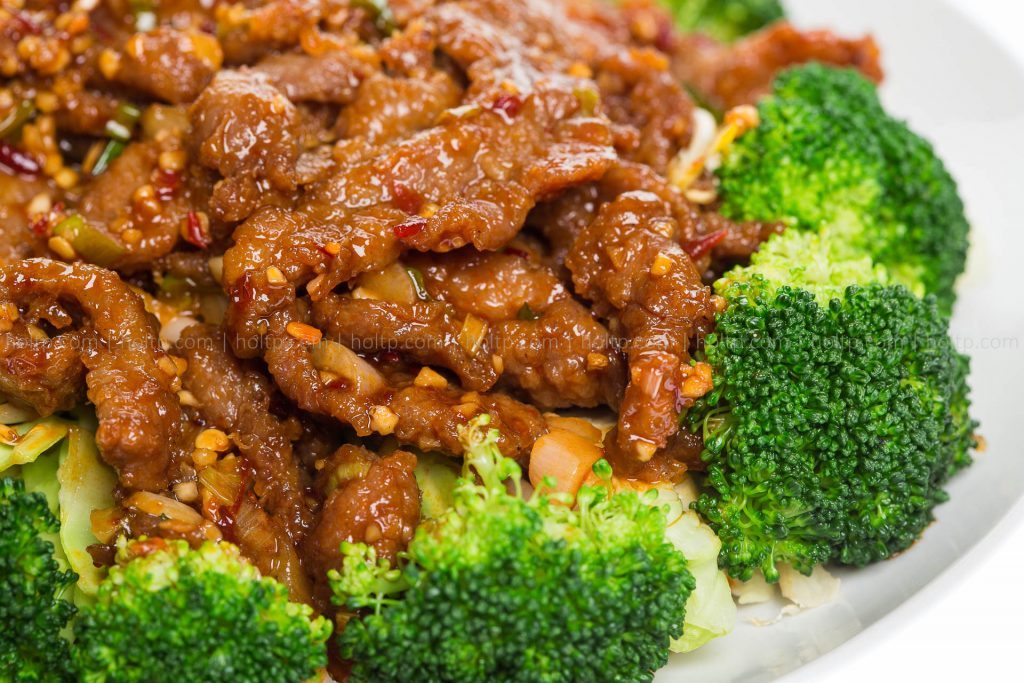 Chinese Restaurant Beef Broccoli Photo