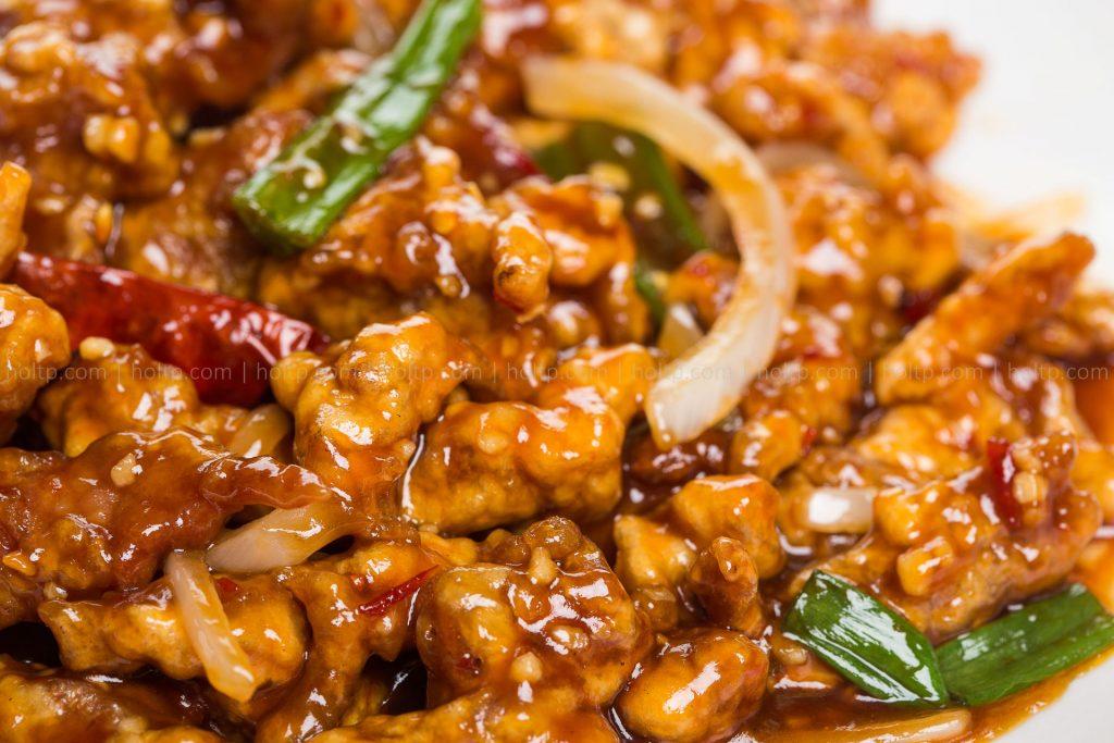Chinese Restaurant Spicy Sesame Chicken