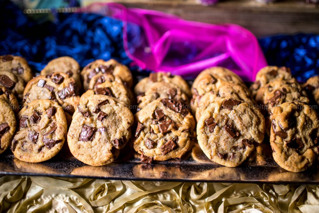 Dessert Bar Chocolate Cookies Photography