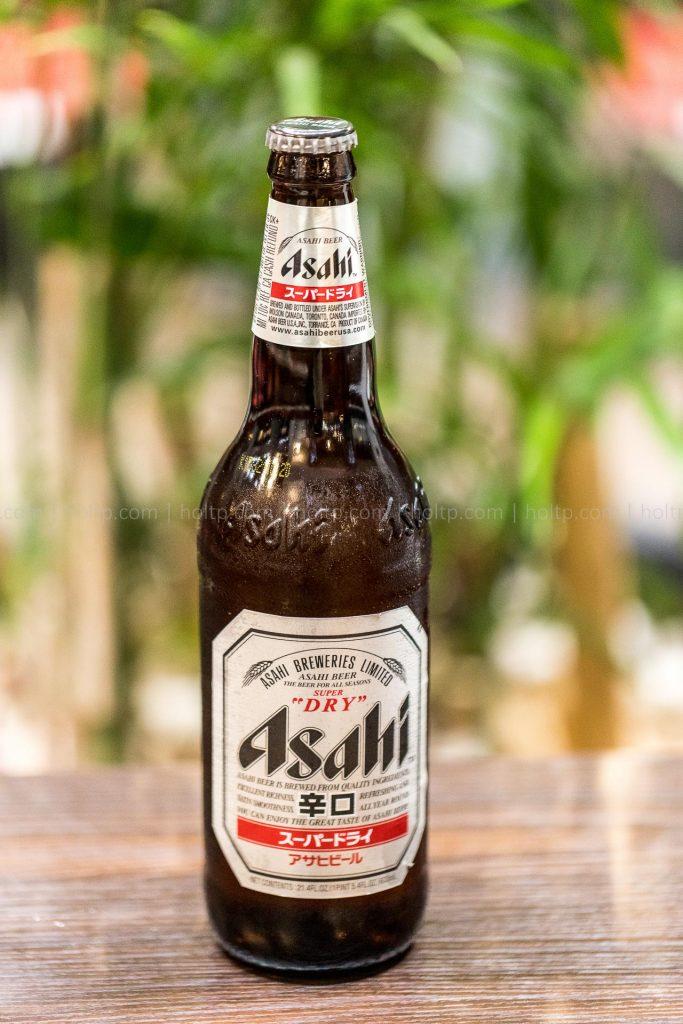 Asahi beer beverage photography