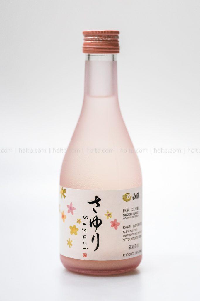 Sayuri Sake beverage photography
