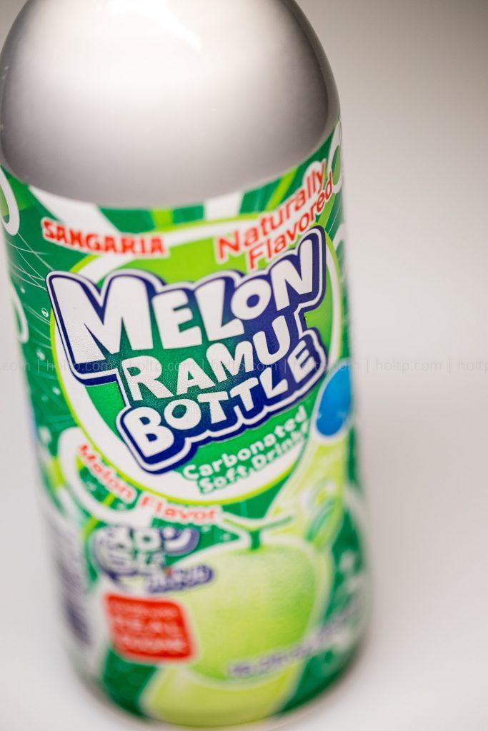 melon ramu bottle beverage photography
