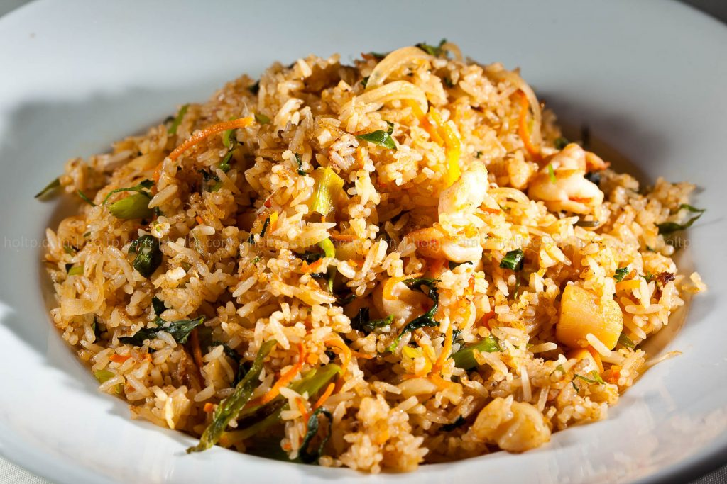 Scallop Friend Rice with Lemongrass Photo