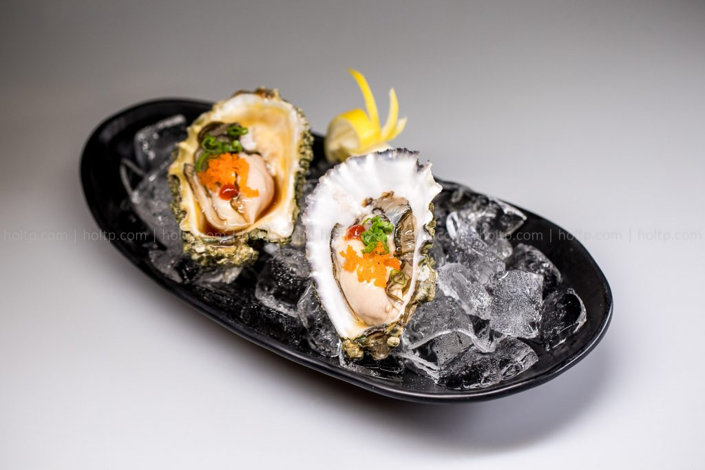 Oyster with Masago Appetizer Photo
