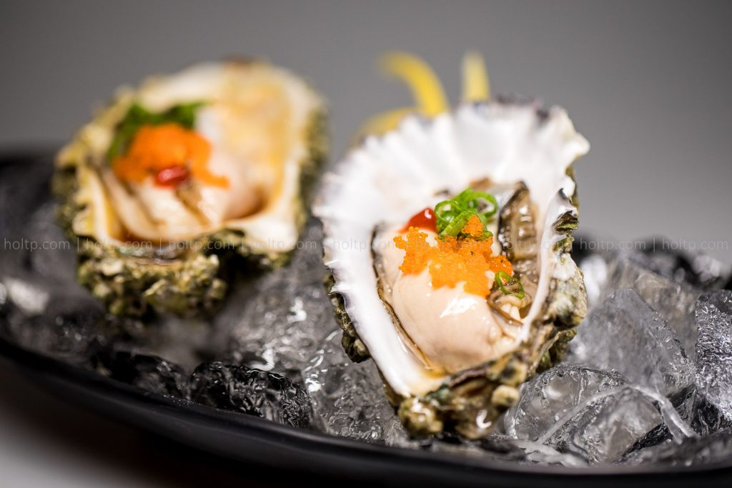 Oyster with Masago Appetizer