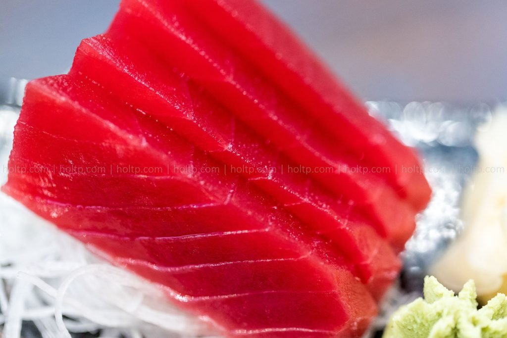Tuna Sashimi Photography