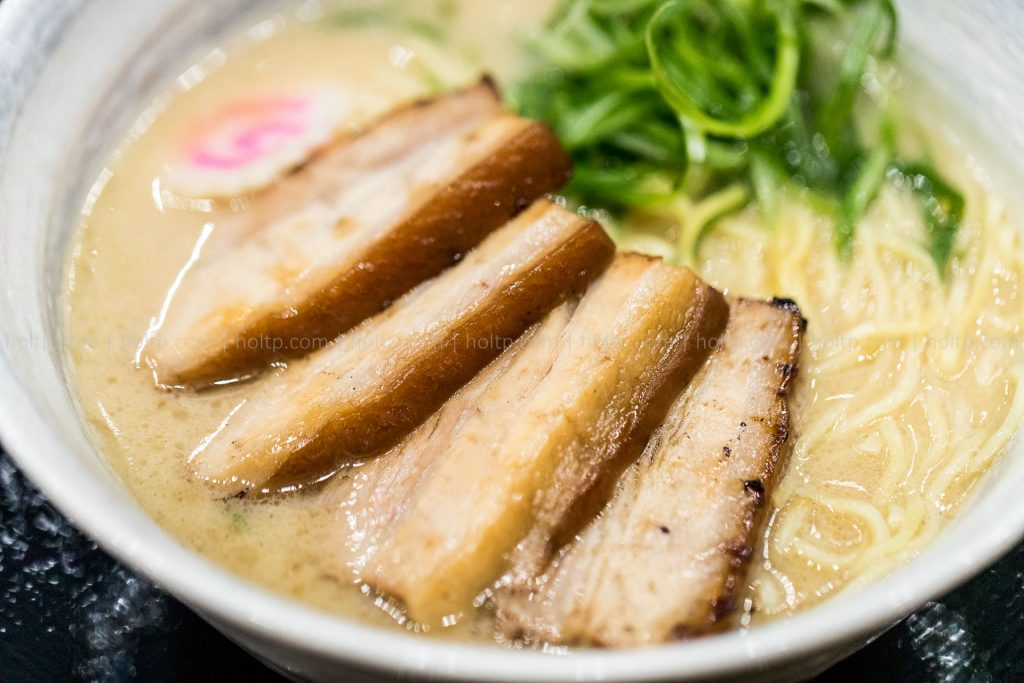 Ramen Noodles with char siu pork