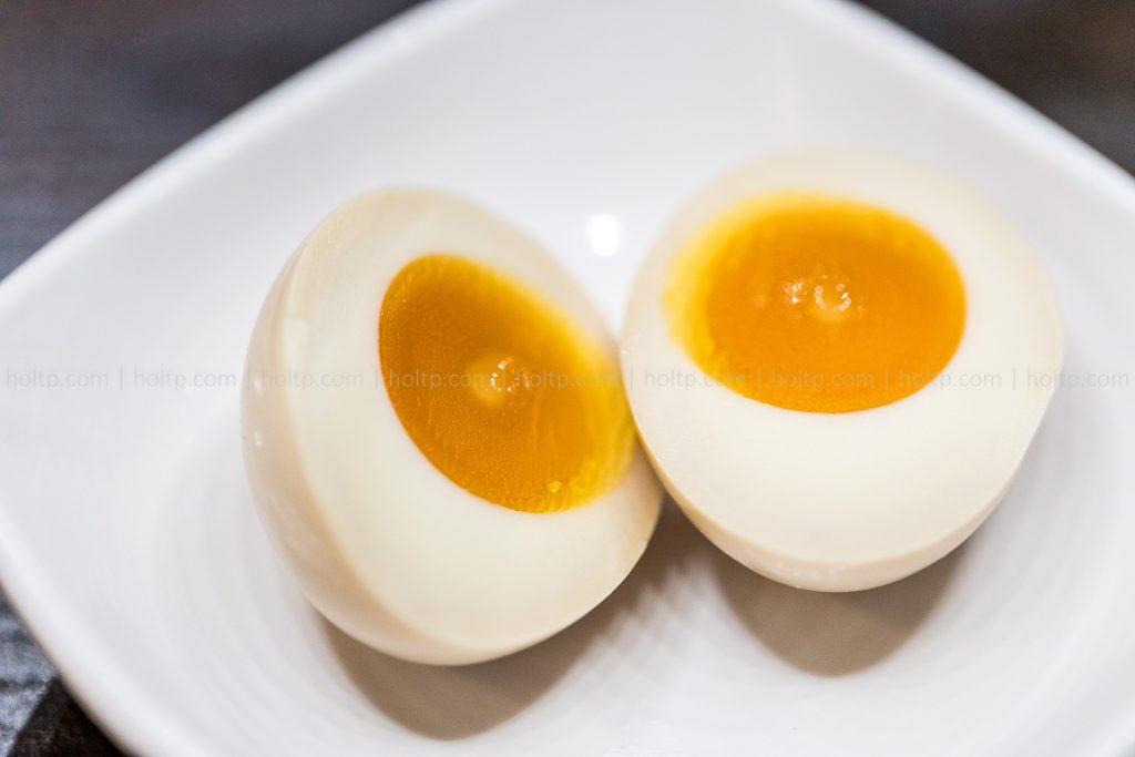 Soft boiled eggs for Ramen Noodles